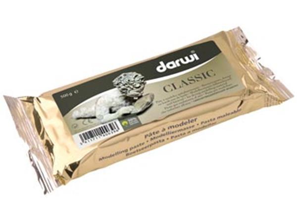 Darwi boetseerpasta Classic. pak van 500 g. wit