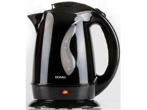 Domo waterkoker 1.7 liter. 2200 W. zwart