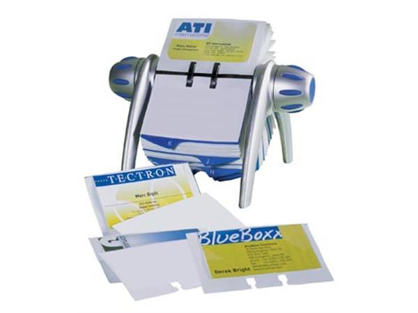 Durable visitekaartenhouder Visifix Flip Vegas vis