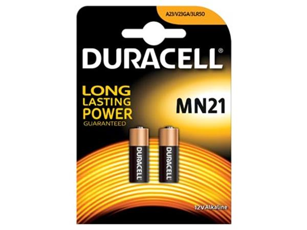 Duracell batterijen Alkaline Security MN21. bliste