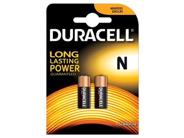 Duracell batterijen Security MN9100. blister van 2