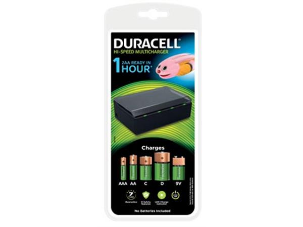 Duracell batterijlader Hi-Speed Multicharger. op b