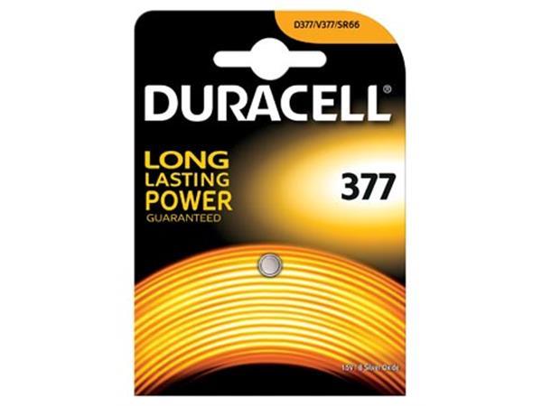Duracell knoopcel Duralock 377. op blister