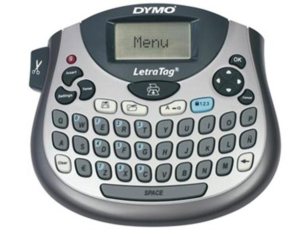 Dymo beletteringsysteem LetraTag LT-100T. qwerty