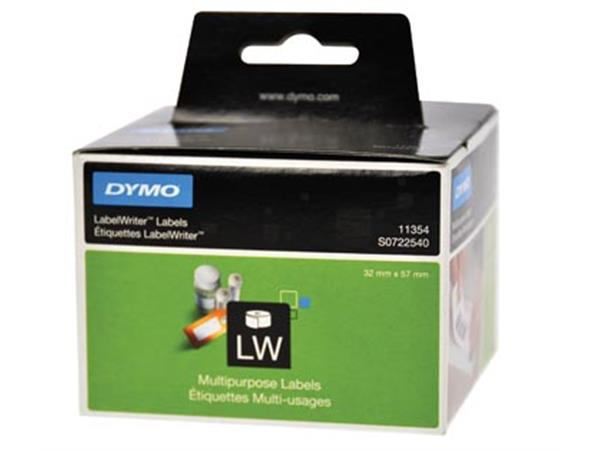 Dymo etiketten LabelWriter ft 57 x 32 mm. verwijde