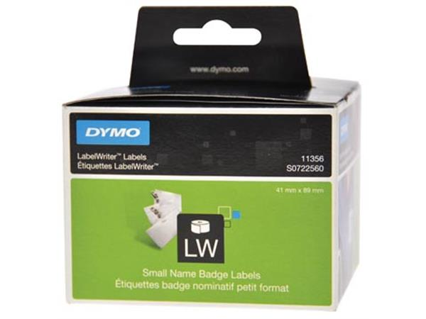 Dymo etiketten LabelWriter ft 89 x 41 mm. verwijde