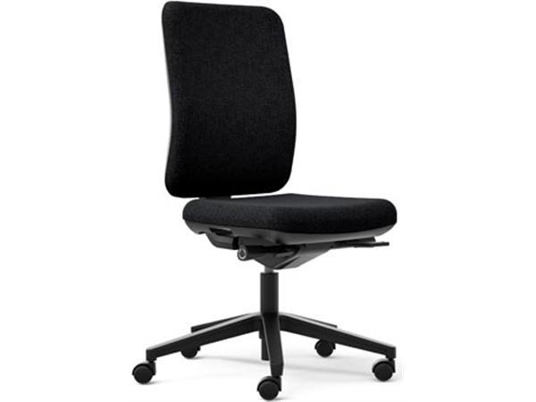 EOL bureaustoel Oscar, stoffen rug