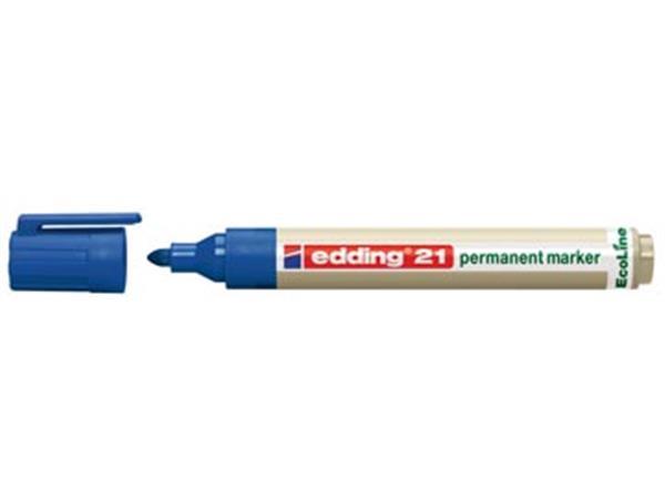Edding permanent marker Ecoline e-21 blauw