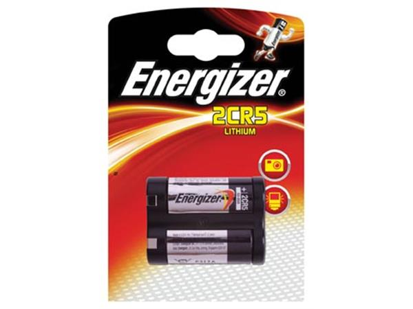 Energizer batterij Photo Lithium 2CR5. op blister