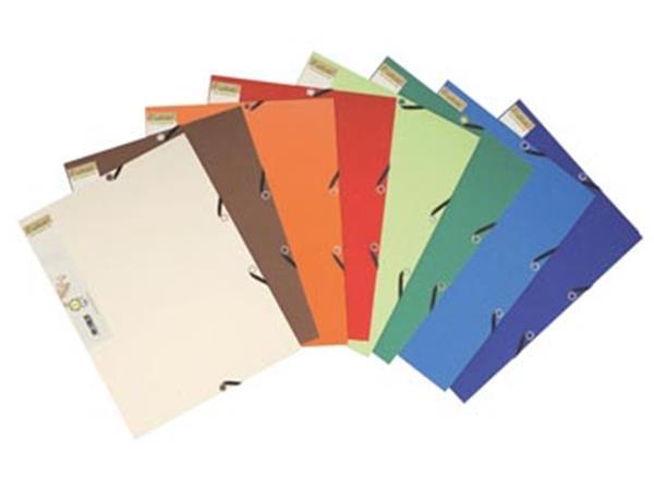 Exacompta elastomap Forever geassorteerde kleuren: zand, ivoor, blauw, donkerblauw, groen, lichtgroen...