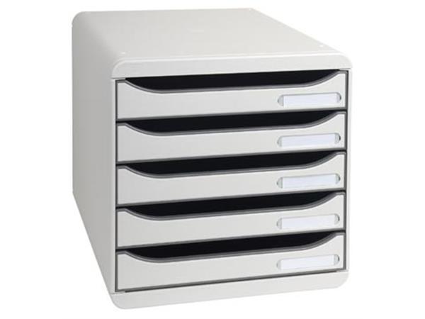 Exacompta ladenblok Big-Box Plus Classic, lichtgrijs