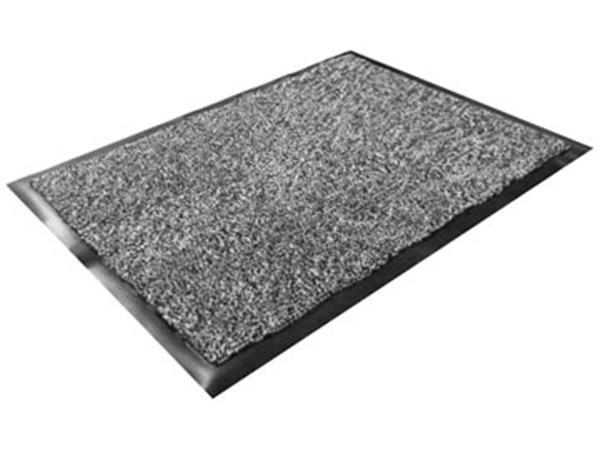 Floortex deurmat Dust Control. ft 60 x 90 cm. grij