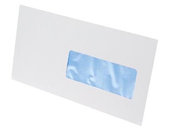 Gallery enveloppen ft 114 x 229 mm. venster rechts