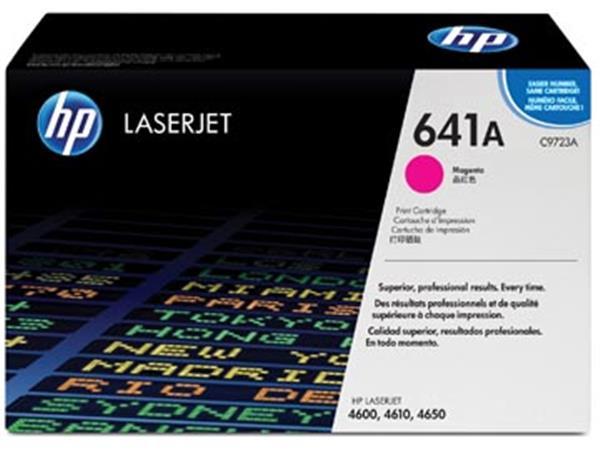 HP toner 641A, 8 000 pagina's, OEM C9723A, magenta