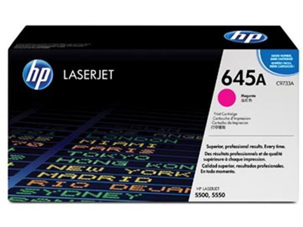 HP toner 645A, 12 000 pagina's, OEM C9733A, magenta