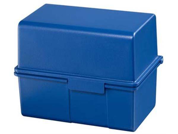 Han systeemkaartenbak ft A6. blauw