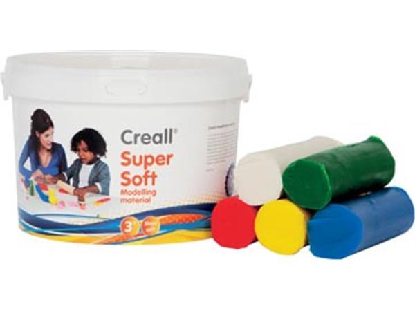 Havo boetseerpasta Supersoft 5 geassorteerde kleur