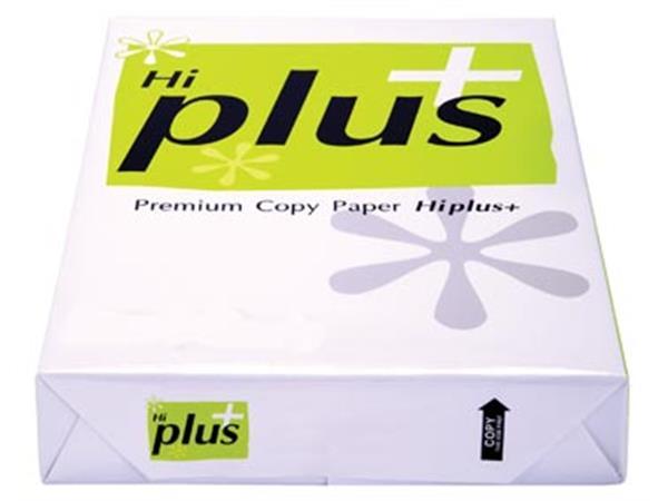 Hi-Plus Premium kopieerpapier ft A3. 75 g. pak van