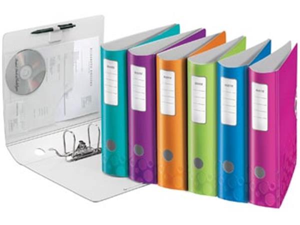 Leitz WOW ordner Active, geassorteerde kleuren, rug van 8,2 cm