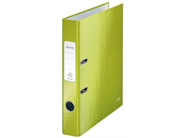 Leitz WOW ordner groen, rug van 5 cm