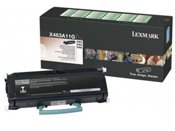Lexmark Toner Kit return program - 3500 pagina's - X463A11G