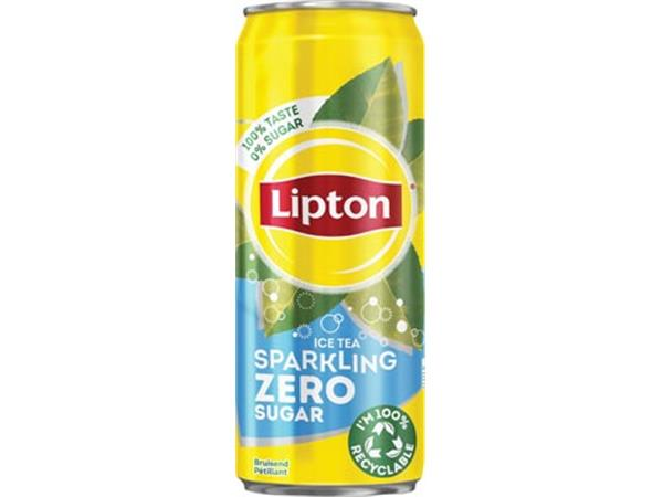 Lipton Ice Tea Zero frisdrank. sleek blik van 33 c