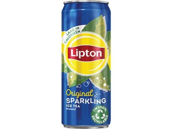 Lipton Ice Tea frisdrank. sleek blik van 33 cl. pa
