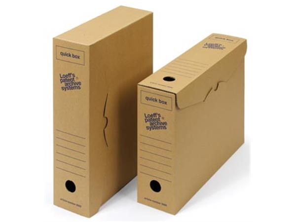 Loeff's achiefdoos Quick box 335x240x80 mm