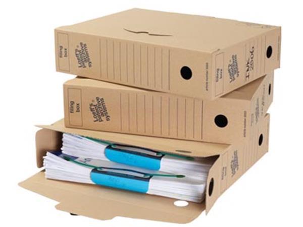 Loeff's archiefdoos Filing Box 345x250x80 mm. pak