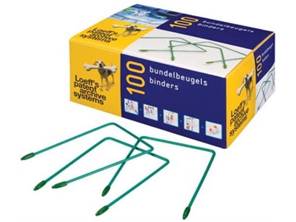 Loeff's bundelbeugel lengte: 100 mm. doos van 100