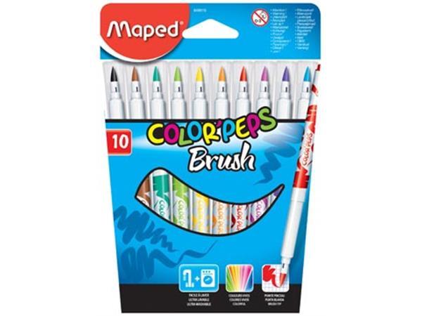 Maped penseelstift Brush. 10 stuks in een kartonne