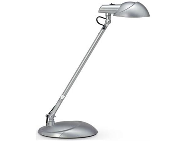 Maul bureaulamp MAULstorm. LED-lamp. zilver
