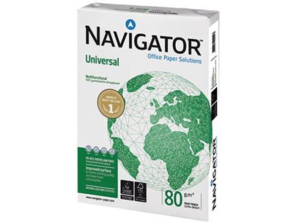 Navigator Universal printpapier ft A4, 80 g, pallet