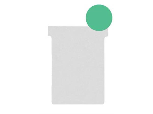 Nobo T-planbordkaarten index 2. ft 85 x 60 mm. gro