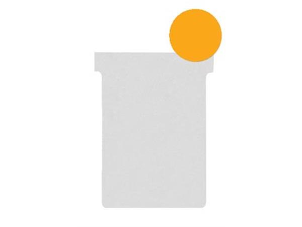Nobo T-planbordkaarten index 2. ft 85 x 60 mm. ora