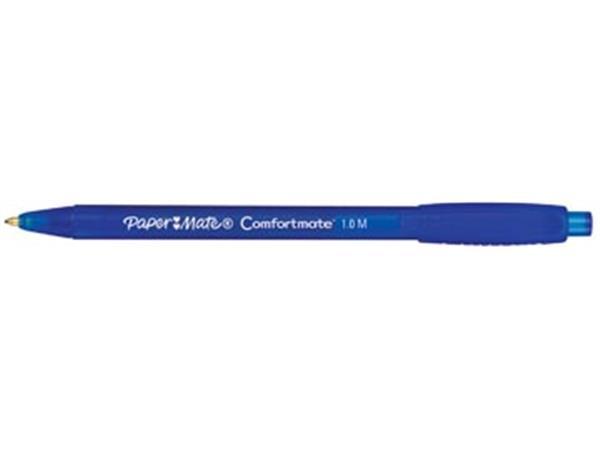Paper Mate balpen Comfortmate Fresh RT blauw