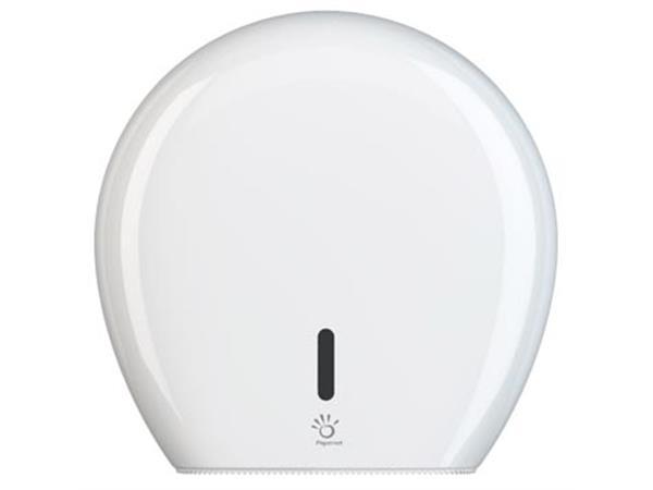 Papernet toiletpapierdispenser Superior Maxi Jumbo, voor Maxi Jumbo rollen, wit