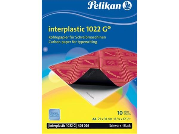 Pelikan carbonpapier Interplastic. etui van 10 vel