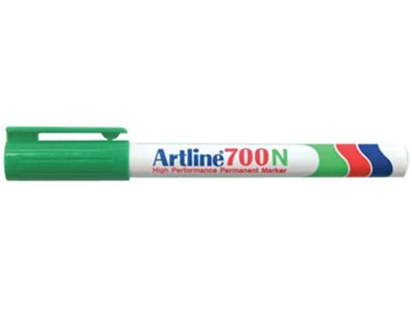 Permanent marker Artline 700 groen