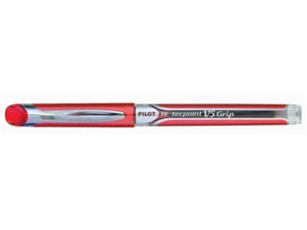 Pilot roller Hi-Tecpoint V5 en V7 Grip V5, 0,3 mm, rood
