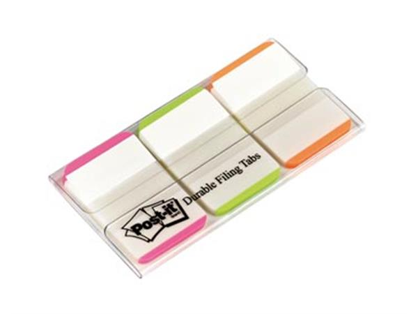 Post-it Index Strong. . ft 25.4 x 38 mm. wit met g