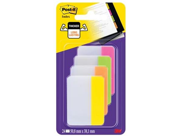 Post-it Index Strong. . ft 38 x 50.8 mm. blister m