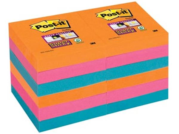 Post-it Super Sticky notes Bangkok. ft 51 x 51 mm.
