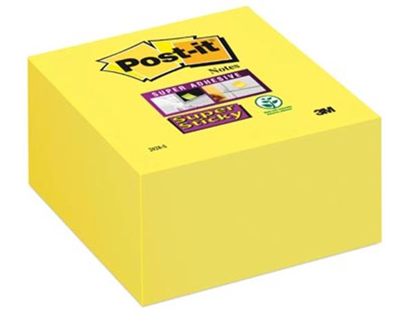 Post-it Super Sticky notes. ft 76 x 76 mm. neongee