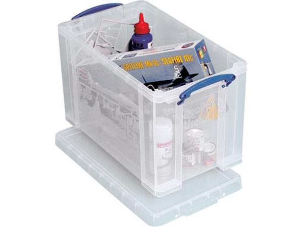 Really Useful Box 24 liter, transparant