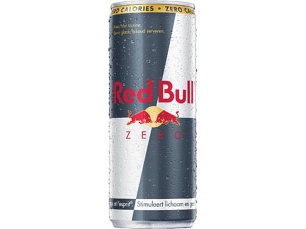 Red Bull energiedrank. zero. blik van 25 cl. pak v