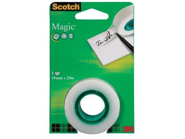 Scotch plakband Magic  Tape ft 19 mm x 25 m. blist