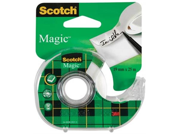 Scotch plakband Magic  Tape ft 19 mm x 25 m. blist