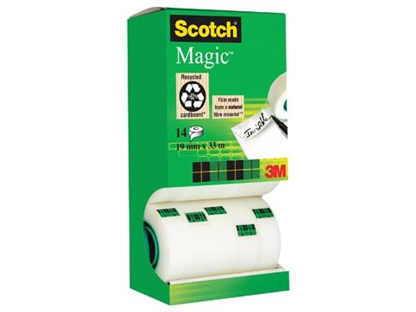 Scotch plakband Scotch Magic Tape. value pack 12 +