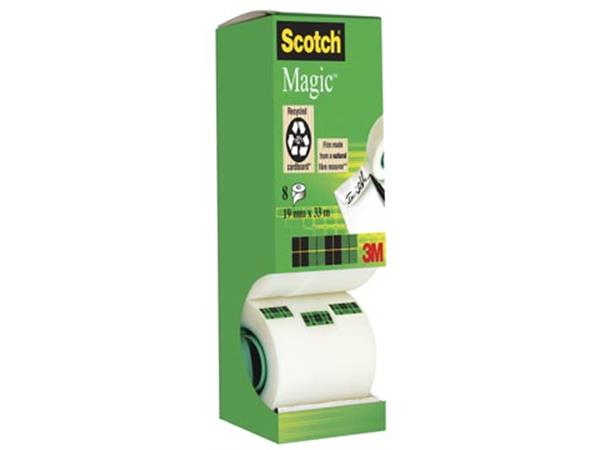 Scotch plakband Scotch Magic  Tape value pack met